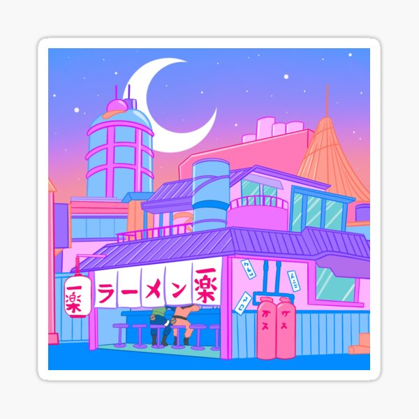 Ramen with Sensei Sticker