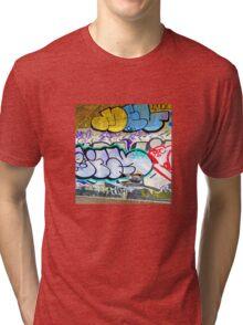 Brooklyn Graffiti 11 Tri-blend T-Shirt