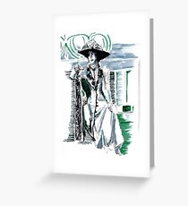 Lady Grantham Greeting Card