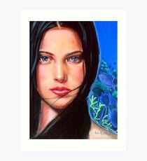 Diosa del mar Art Print
