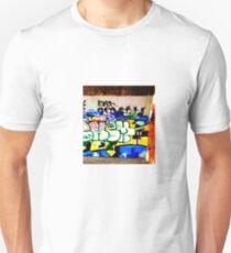 Brooklyn Graffiti 9 Unisex T-Shirt