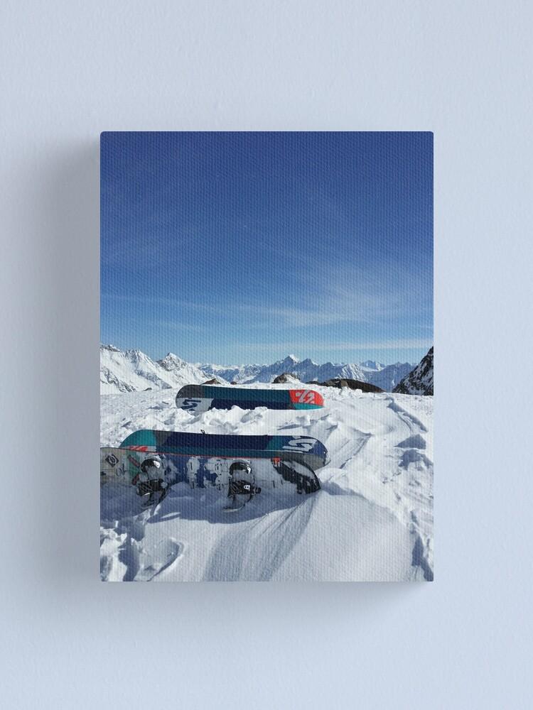 Alternate view of Snowboarding Canvas Print