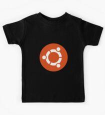 Ubuntu 1-Colour Logo Kids Tee