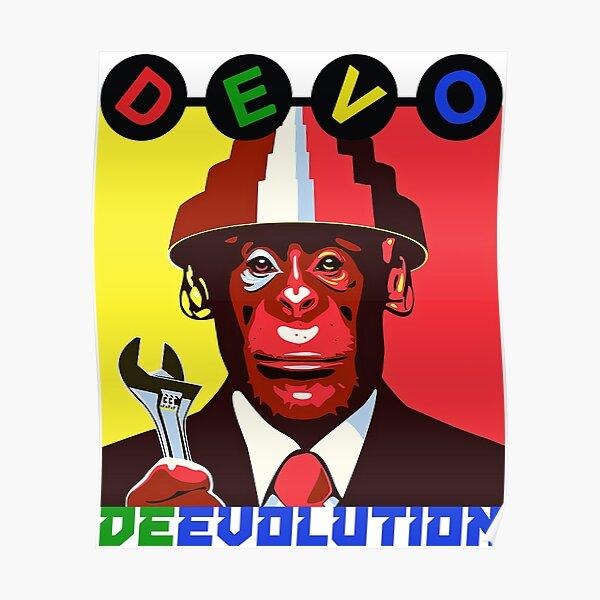 Devo - de-evolution Poster
