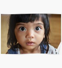 Borneo Child Poster