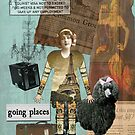 Altered Art Vintage Travel Collage by Gidget26