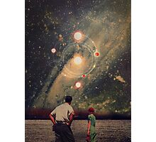 Light Explosions In Our Sky Photographic Print