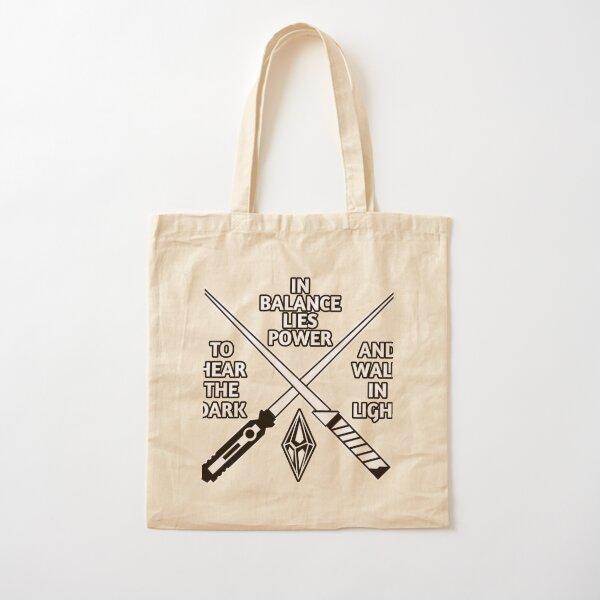 Balance Cotton Tote Bag