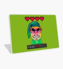 I´M NOT ZELDA! Laptop Skin
