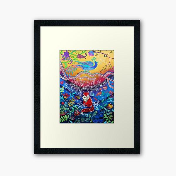 Brian, The Kindly Fox Framed Art Print