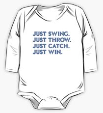 Just Win. (Blue) One Piece - Long Sleeve