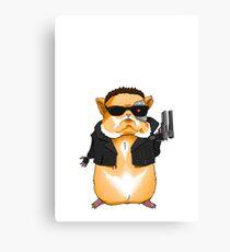 Hamster Terminator Canvas Print