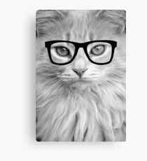 Hippest Cat Canvas Print