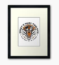 Sagat's Muay Thai Gym Framed Print