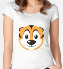 Tabbi Tiger Women's Fitted Scoop T-Shirt