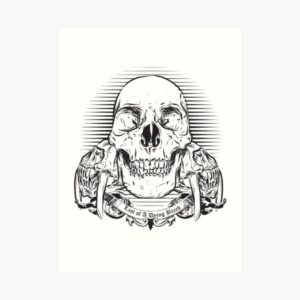 Last of a Dying Breed Art Print