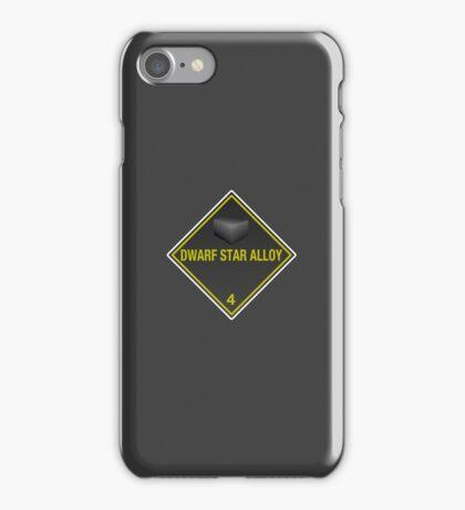 Hazardous: Dwarf Star Alloy iPhone Case/Skin