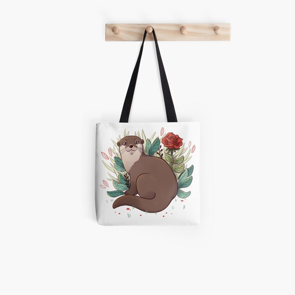 Otter Stofftasche