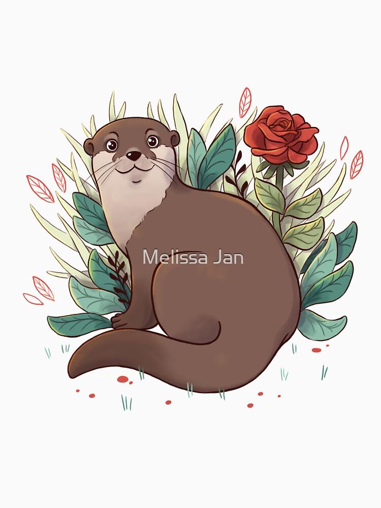 Otter by adelaydeart