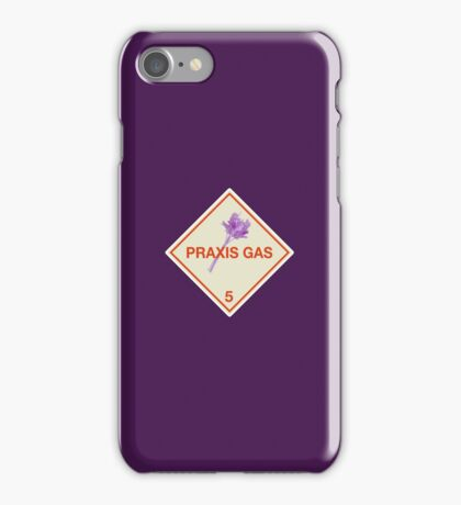 Hazardous: Praxis Gas iPhone Case/Skin