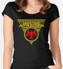 Dune HOUSE ATREIDES Women's Fitted Scoop T-Shirt