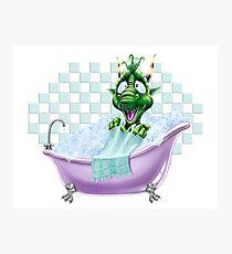 Bartleby's Bathtub Surprise Photographic Print