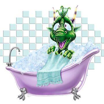Bartleby's Bathtub Surprise by oogiboogi