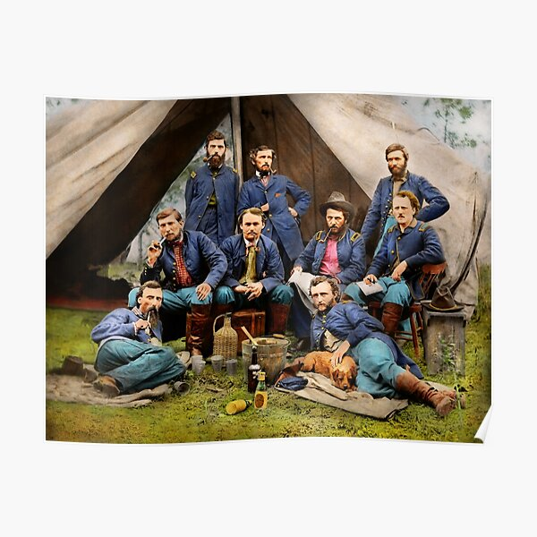 Civil War - The young George Armstrong Custer 1862 Poster