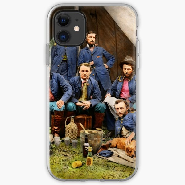 Civil War - The young George Armstrong Custer 1862 iPhone Soft Case