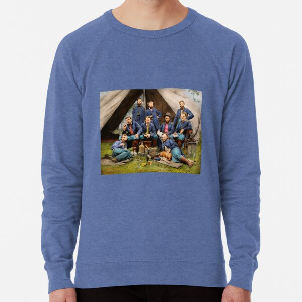 Civil War - The young George Armstrong Custer 1862 Lightweight Sweatshirt