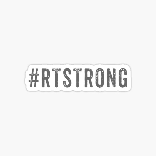 RT Strong Respiratory Therapist Sticker