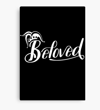 Beloved (White) Canvas Print