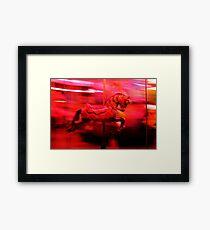 Carrousel Framed Print