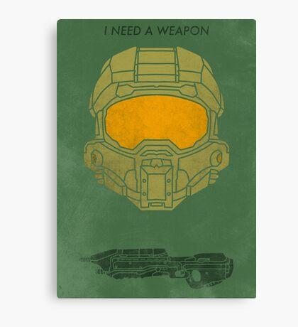 I need a weapon. Canvas Print