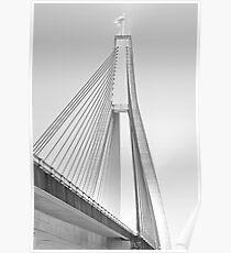ANZAC Bridge - Glebe NSW Poster