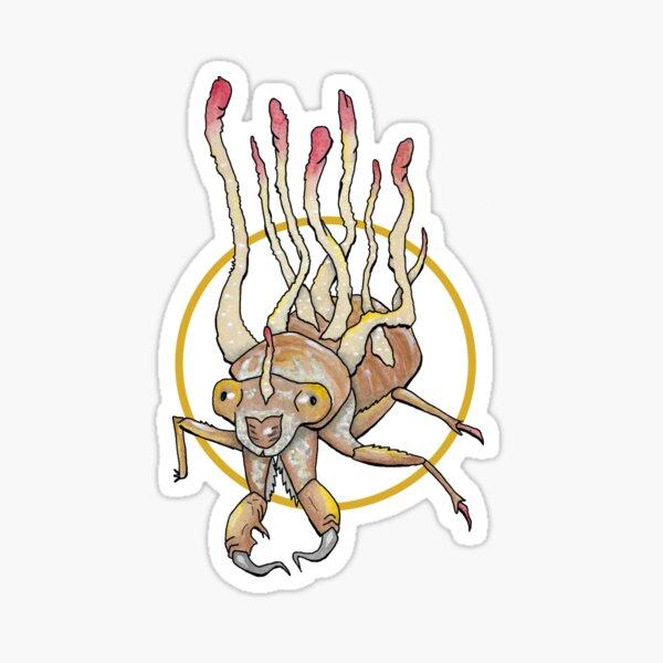 cicada cordyceps Sticker