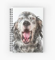 The Big Yawn Spiral Notebook