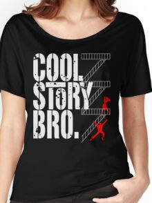 West Side Story, Bro. (White) Women's Relaxed Fit T-Shirt