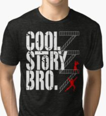 West Side Story, Bro. (White) Tri-blend T-Shirt