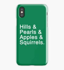 Mary Baldwin College List iPhone Case/Skin