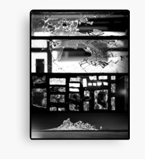 [Broken] Monochrome Impact Canvas Print