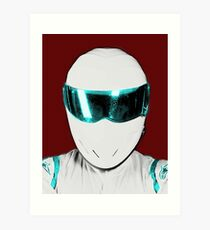 Top Gear Inspired Pop Art The Stig Art Print