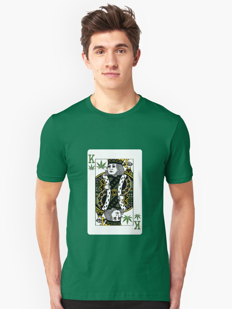 Playing cards in Amsterdam Unisex T-Shirt Front