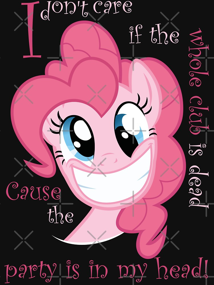 Pinkie Pie Party in my Head | Unisex T-Shirt