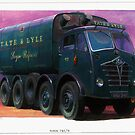 Foden FG tanker Tate & Lyle. by Mike Jeffries