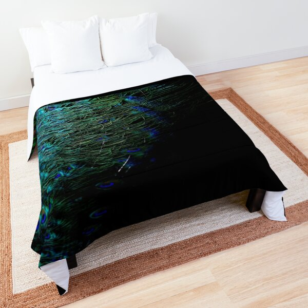 Peacock Feather Comforter