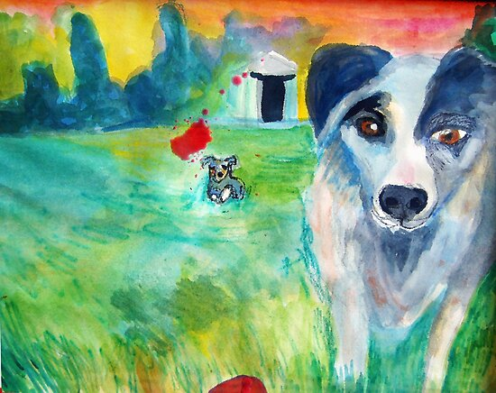 Curica and Plava and the Red  Kong by Diane  Marie Kramer