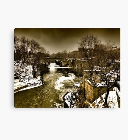 A Step Back In Time Canvas Print