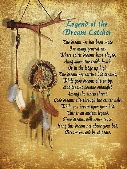 """""""Legend of the Dream-catcher Poster"""" Posters by Irisangel ..."""