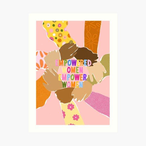 Journée des femmes Impression artistique